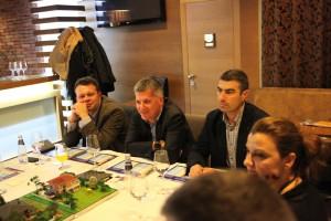 Христо Караиванов, Директор продажби България на Ideal Standard (в средата).